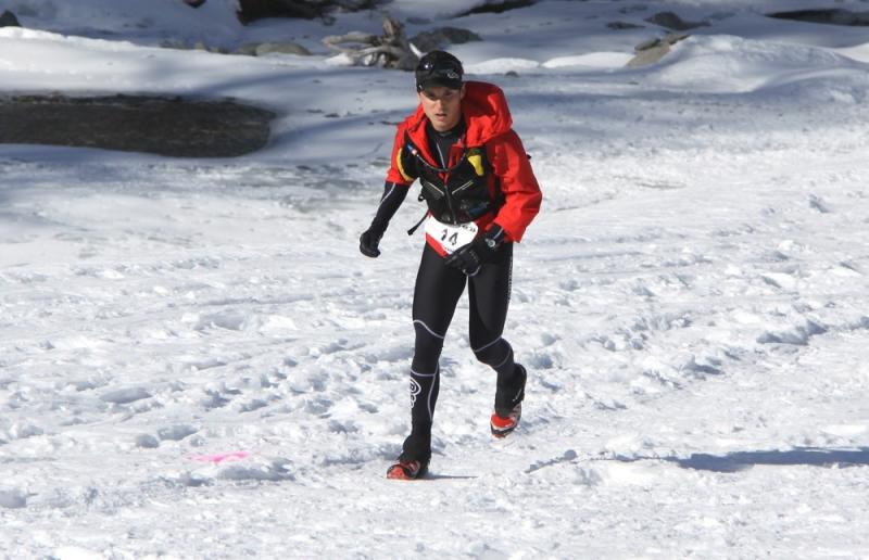 Snow trail Ubaye Salomon