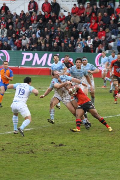 Rugby Top 14 : Le RCT l'emporte haut la main contre Bayonne 50 à 10.