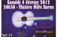 Couleurs de guitare et Poussière d'Hommes - Saint-Mandrier