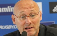 Pour Bernard Laporte, entraîneur du Rugby Club Toulonnais : ' L'objectif numéro un est quand même le match de barrage du Top 14 contre le Racing-Métro 92 '