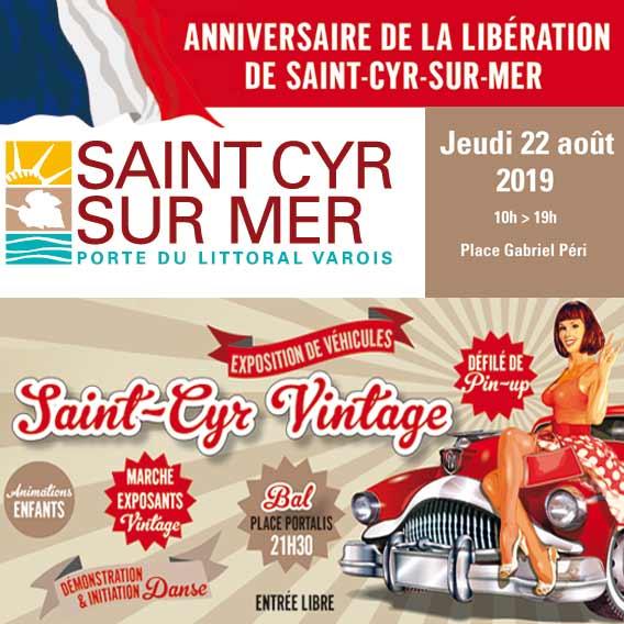 fête de la libération de Saint-Cyr-sur-mer 2019