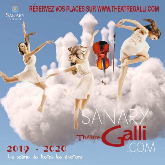 Théâtre Galli à Sanary - Saison 2019-2020