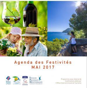 Agenda des Festivités mai 2017 la Seyne, Ollioules, Six Fours, St Mandrier