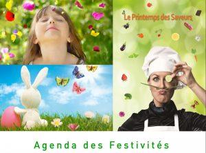 Agenda des festivités avril 2017