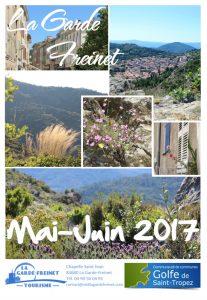 Agenda mai et juin 2017 à la Garde-Freinet