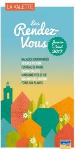 Les rendez-vous janvier à avril 2017 La Valette