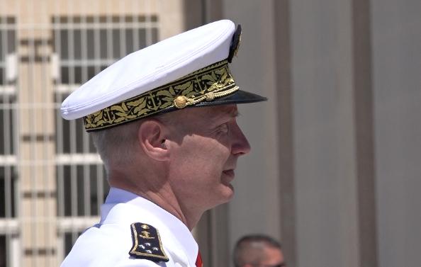 Nouveau Préfet Maritime de Méditerranée à Toulon