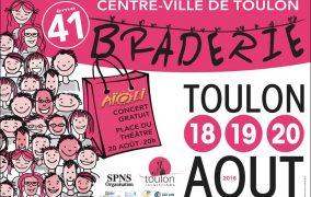 Braderie de Toulon du 18 au 20 août 2016