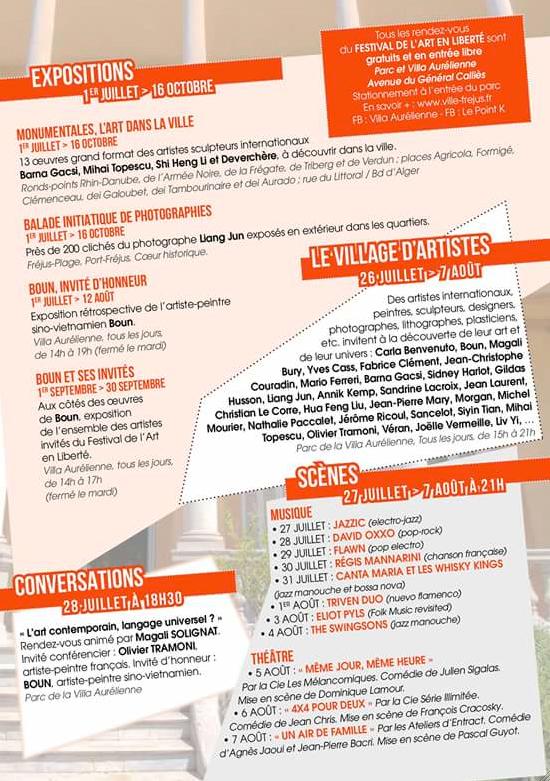 Festival de l'Art en Liberté - Fréjus