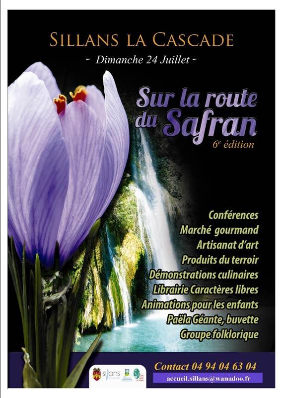 Sur la route du safran - Sillans