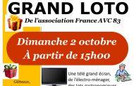 Grand loto de l'association France AVC 83 - La Valette