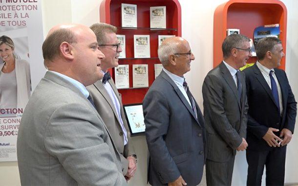 Crédit Mutuel Méditerranéen Toulon Liberté, inaugure sa première agence 2.0