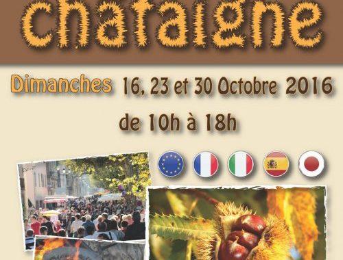34e fêtes de la châtaigne - Collobrières