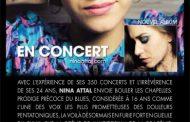 Nina Attal en concert - Draguignan