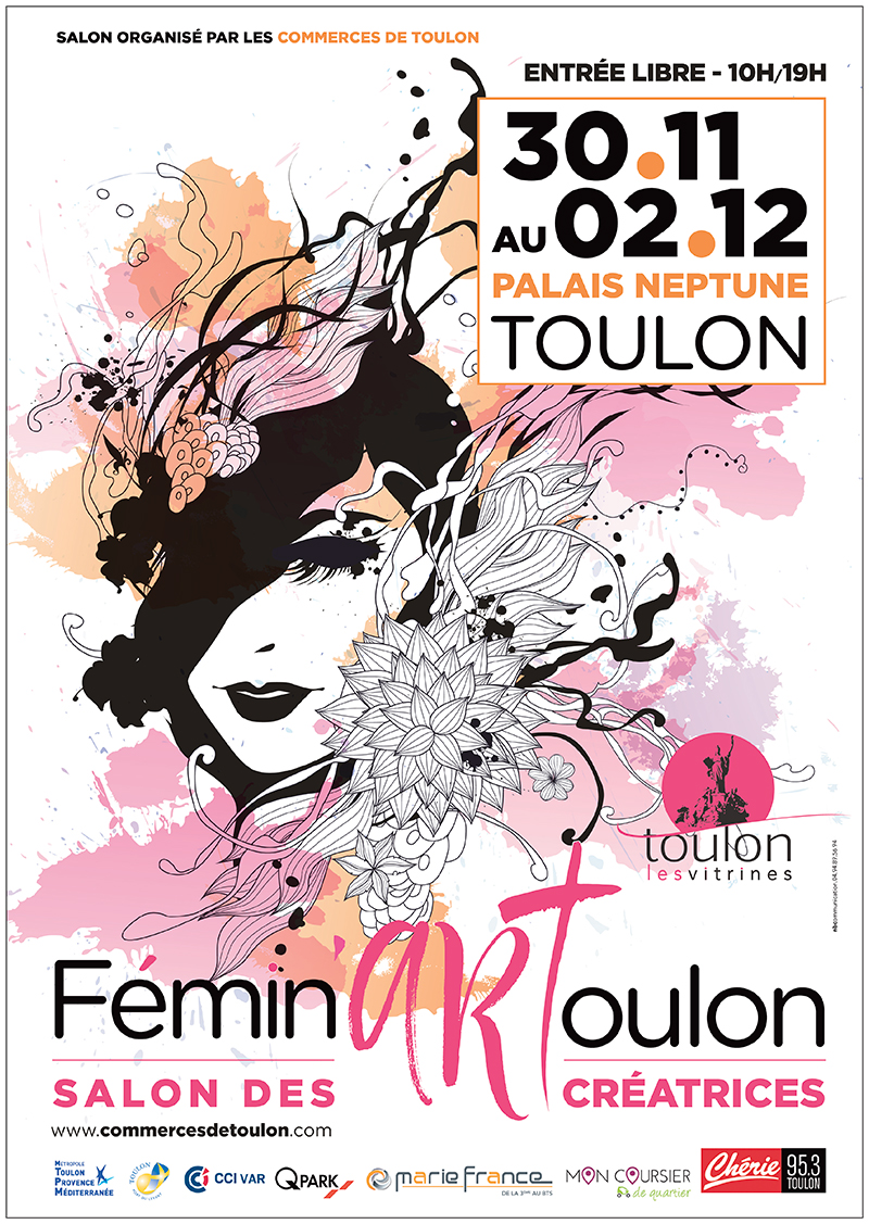 Salon Fémin'Art à Toulon