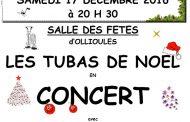 Les Tubas de Noël en concert à Ollioules