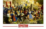 Expo La crèche par Maxime Codou à la Garde-Freinet