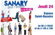 Sanary pour l'emploi 45 ans et +
