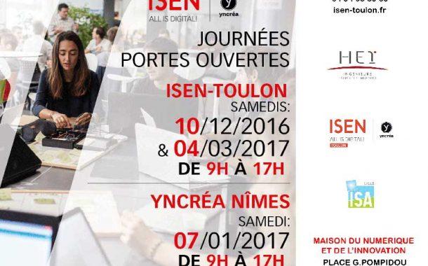 Journées portes ouvertes à l'Isen-Toulon