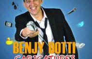Fantaisie Prod , Faux en Rire et le Théâtre le Colbert présentent Benjy Dotti