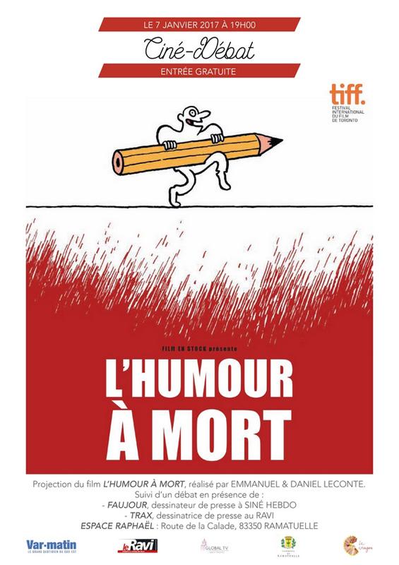 Ciné-débat L'humour à mort à Ramatuelle