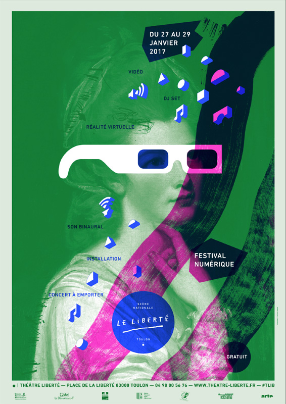 Le Théâtre Liberté de Toulon présente son Festival numérique