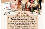 L'association La Robe à l'Envers présente Le Fil des Contes