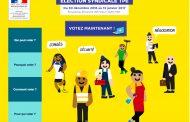 Election syndicale TPE dans le var, jusqu'au 13 janvier, je vote donc je suis !