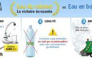 Carte interactive UFC-Que Choisir sur l'eau du robinet en France