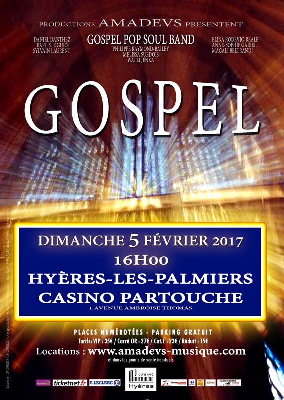 Concert Gospel par l'orchestre Amadevs à Hyères