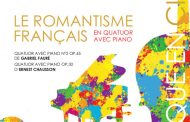 L'ensemble Des Equilibres présente Le romantisme français en quatuor avec piano