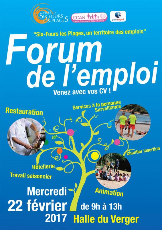 Six Fours présente le Forum de l'emploi 2017