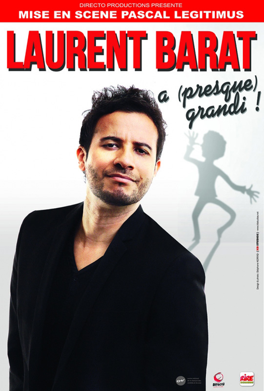 Oméga Live de Toulon présente Laurent Barat a presque grandi !