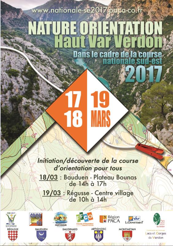 Nature Orientation Haut Var Verdon 2017