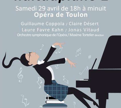 Le Festival de Musique de Toulon et sa région présente la Nuit du Piano 2