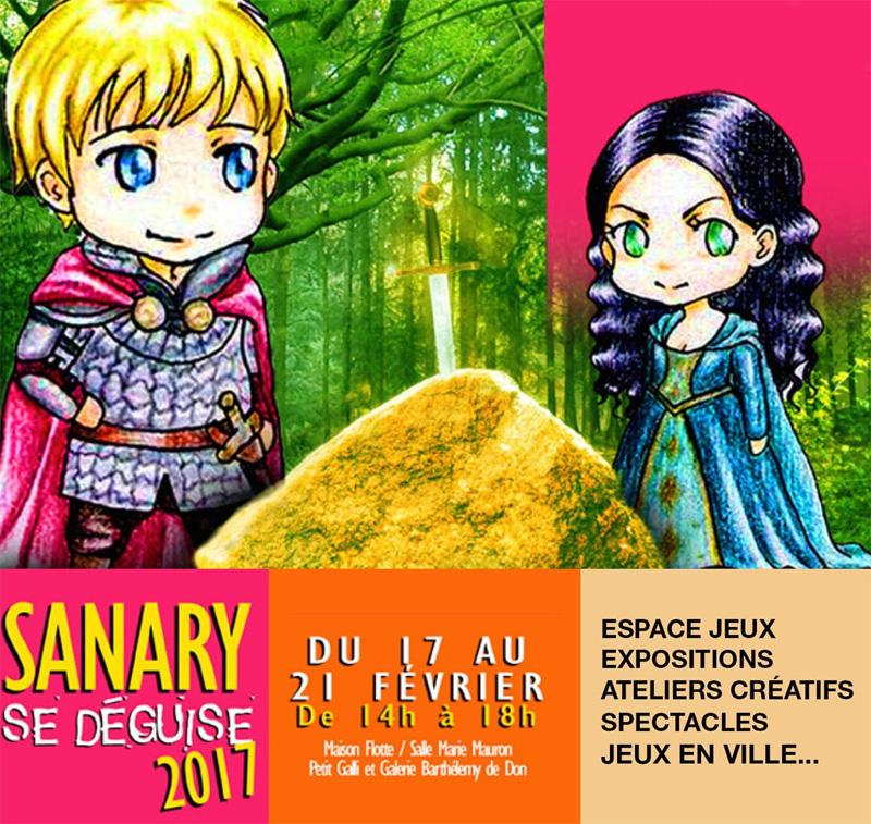Sanary se déguise 2017