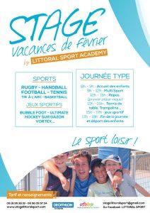 Stage multi sport Littoral Sport Academy