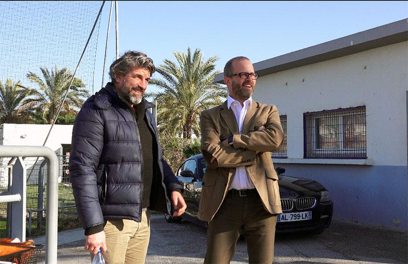 Guillaume Capobianco un président ambitieux pour son club de cœur l'USS Rugby