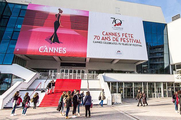 Monsieur Z illustre les 70 ans du Festival de Cannes