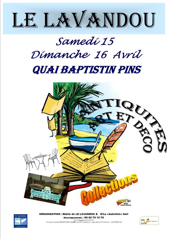 3ème Salon Antiquités Le Lavandou