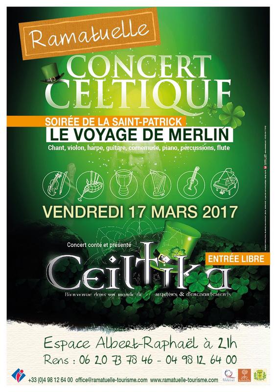 Concert celtique à Ramatuelle