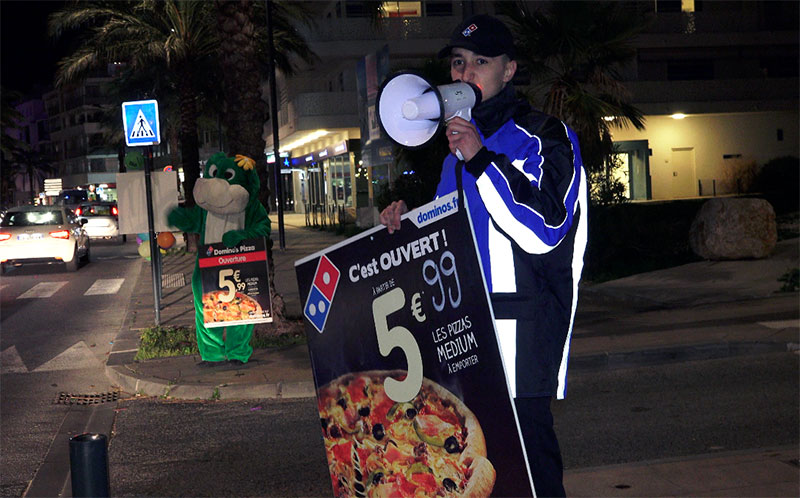 Domino's Pizza ouvre un troisième magasin à La Seyne-sur-Mer