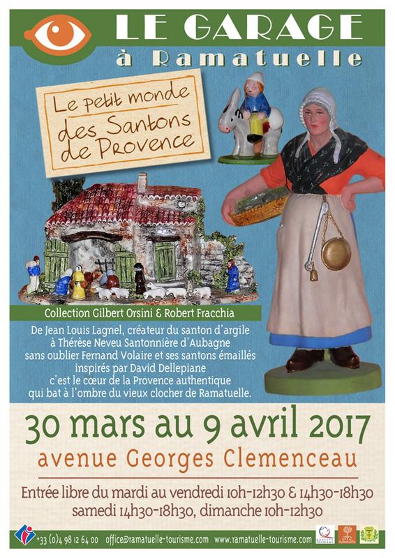 Expo le petit monde des santons de Provence à Ramatuelle
