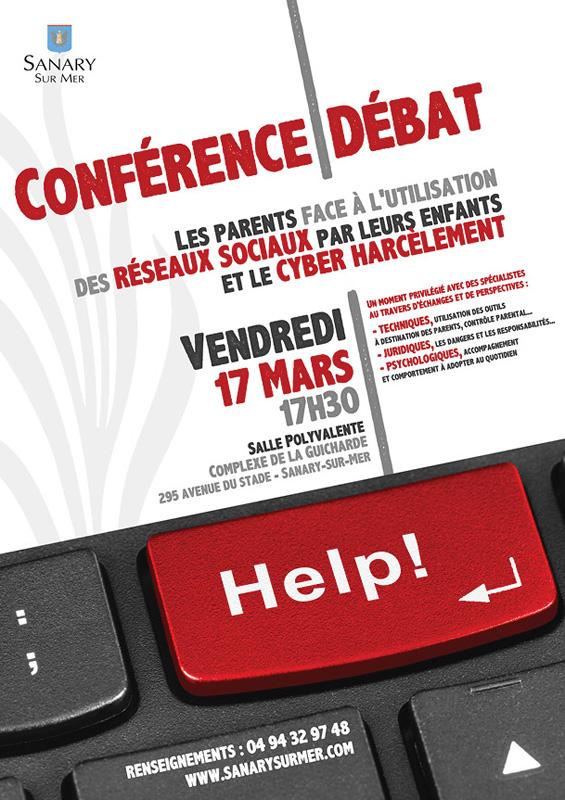 Conférence-débat sur les réseaux sociaux et le cyber harcèlement - Sanary
