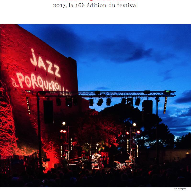 Festival Jazz à Porquerolles 2017
