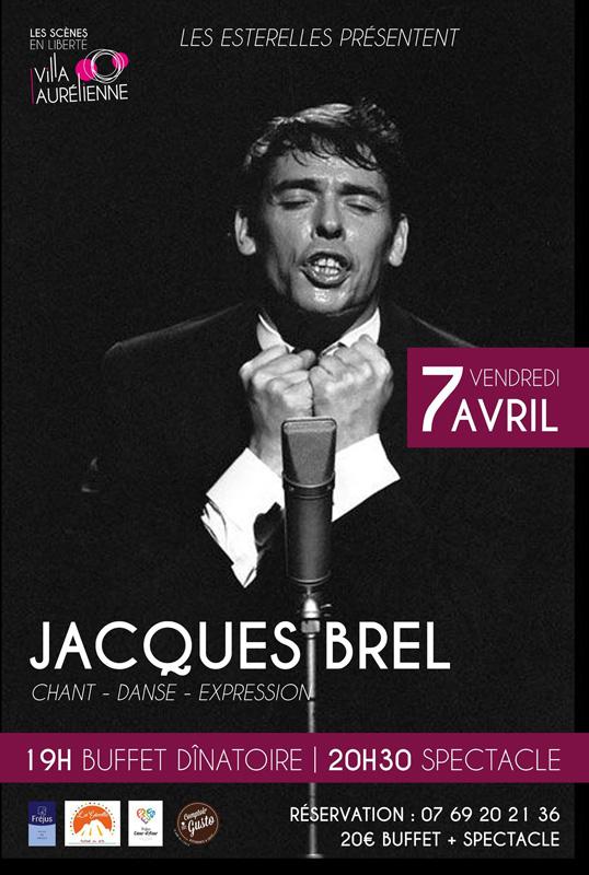 Les Esterelles présentent Jacques Brel