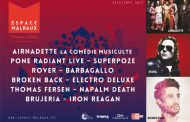 Concerts Printemps 2017 à L'Espace Malraux à Six-Fours