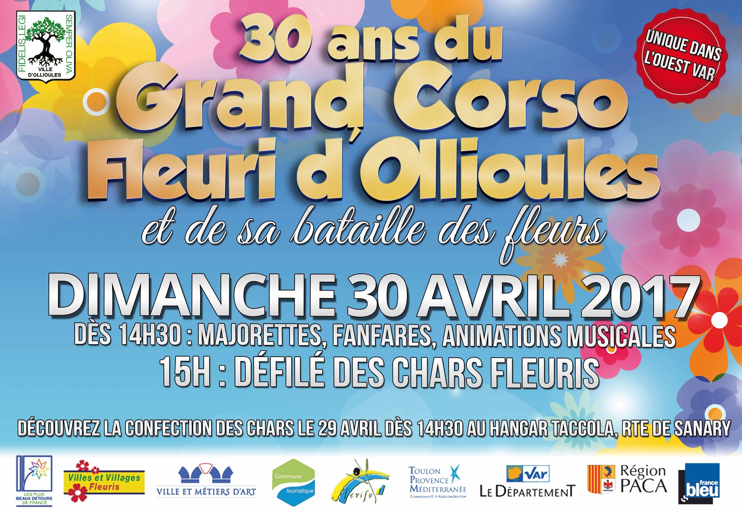 Grand Corso Fleuri d'Ollioules 2017