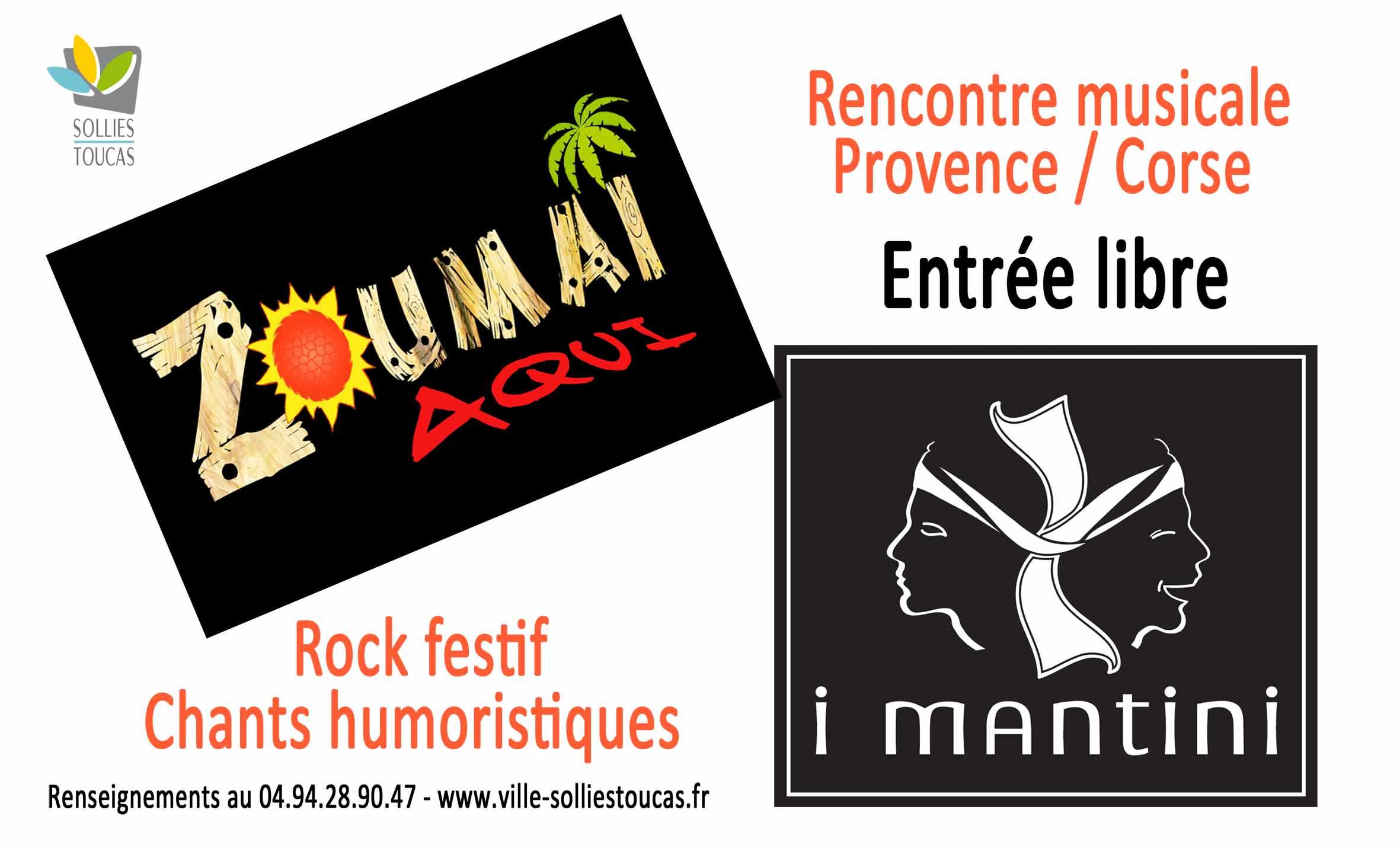 Rencontre musicale Provence-Corse à Solliès-Toucas