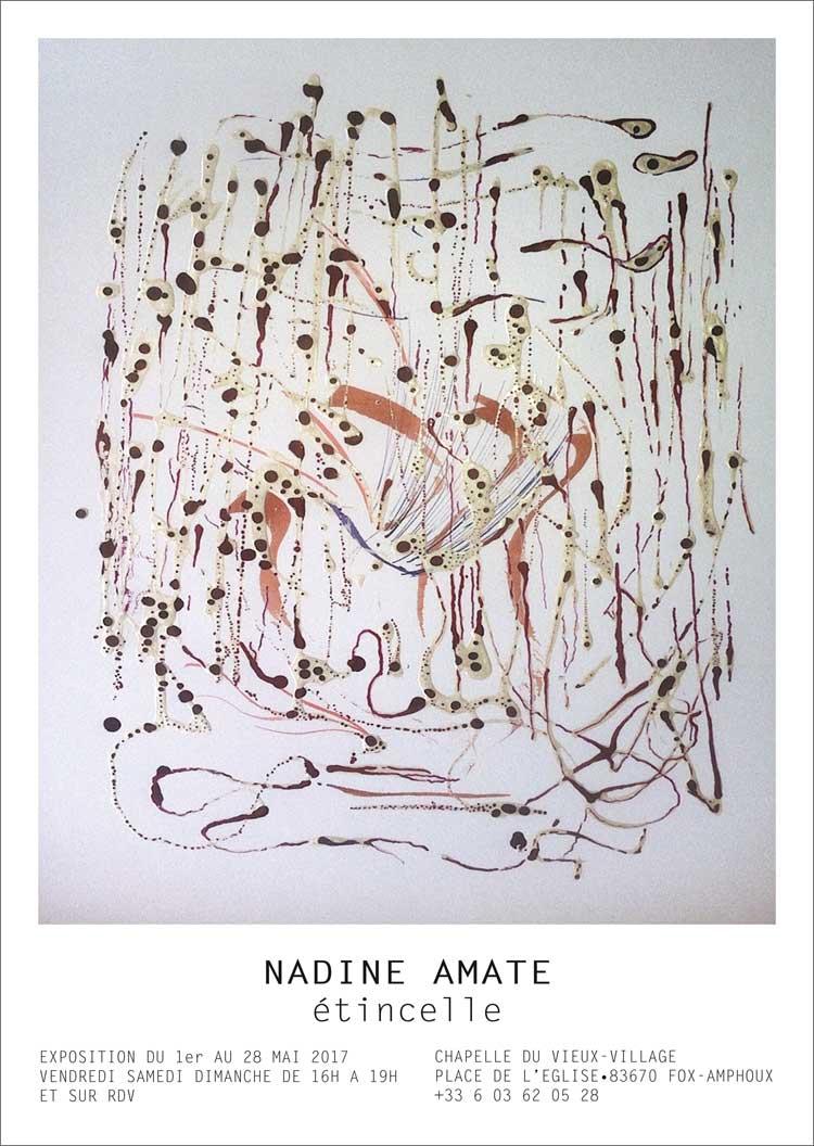 Exposition de Nadine Amate à Fox-Amphoux